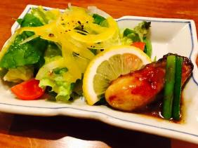 Plump Oyster salad