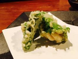 Shishitou and Shirago tempura
