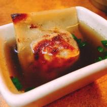 guinea hen dumpling with aromatic broth 3
