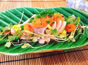 """Sashimi: Local Albacore Tuna """"Tataki"""""""
