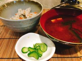 Rice dish : Rice with Oyster and Oyster mushroom