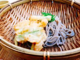 Noodle Dish: Buckwheat noodle (Toshikoshi Soba)