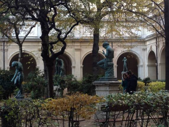 The shadow or Adam by Rodin (On the left)