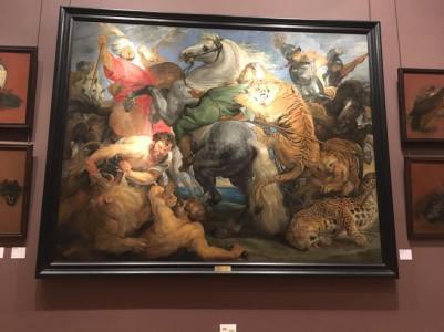 "Rubens, ""La Chasse au Tigre"" Peter Paul Rubens (1577 - 1640)"