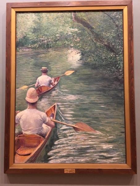"""Gustave Caillebotte, """"Périssoires"""""""