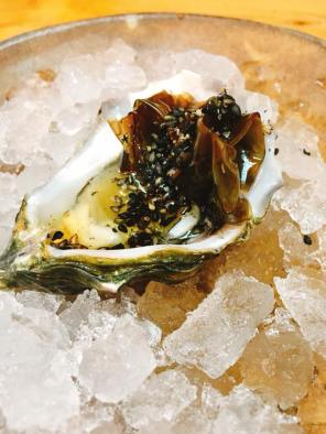 hog island sweetwaters yuzu-pickled local nori 3.5